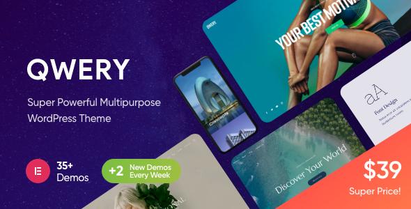 Great Qwery - Multi-Purpose Business WordPress Theme + RTL