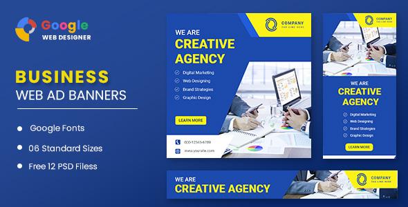 Business Banners Google Web Designer