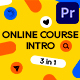 Online Course Intro 3 in 1 - VideoHive Item for Sale