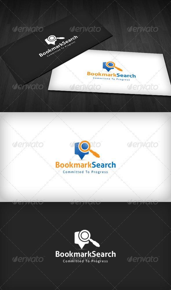 Bookmark Search Logo - Symbols Logo Templates