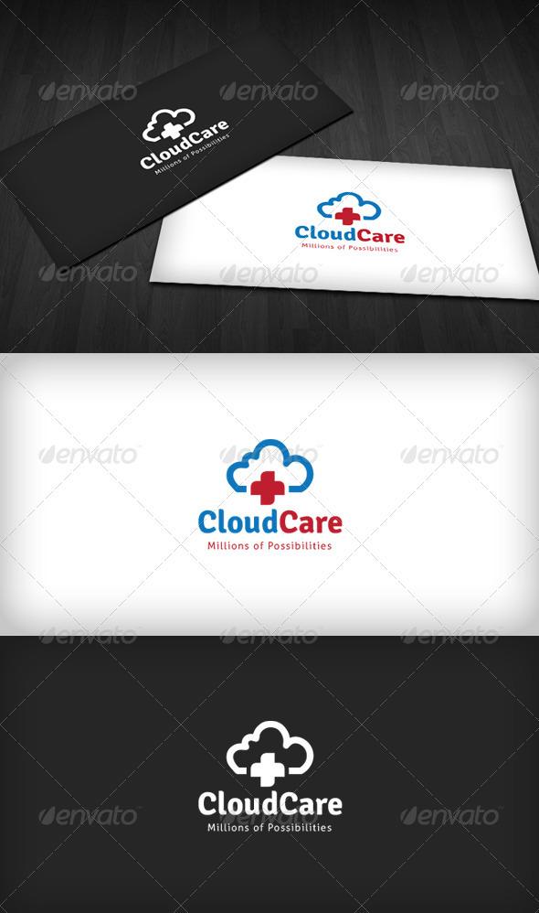 Cloud Care Center Logo - Symbols Logo Templates