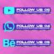 Social Media Pack Version 001 - VideoHive Item for Sale