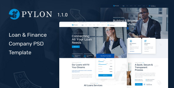Pylon - Loan & Finance Company HTML Template