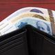 Norwegian krone in the black wallet - PhotoDune Item for Sale