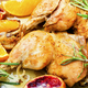 chicken drumstick baked with oranges - PhotoDune Item for Sale