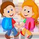 Friendly Cheerful Melody Cartoon Friends