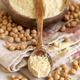 Bowl of raw chickpea flour and beans - PhotoDune Item for Sale