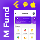 Mutual Fund Investment Template | trading Android + iOS Template | FLUTTER | Fundwind