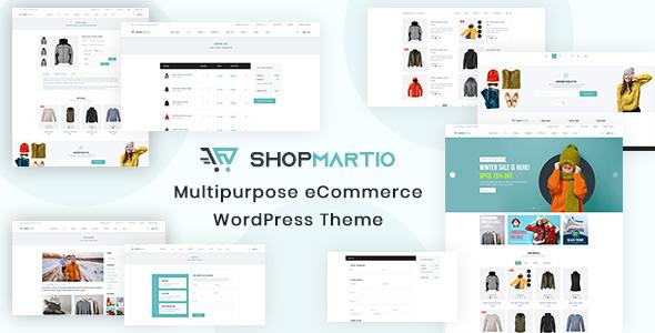 Download Shopmartio – Multipurpose eCommerce WordPress Theme Free Nulled
