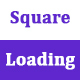 CSS3 Square Loading Animation Effects