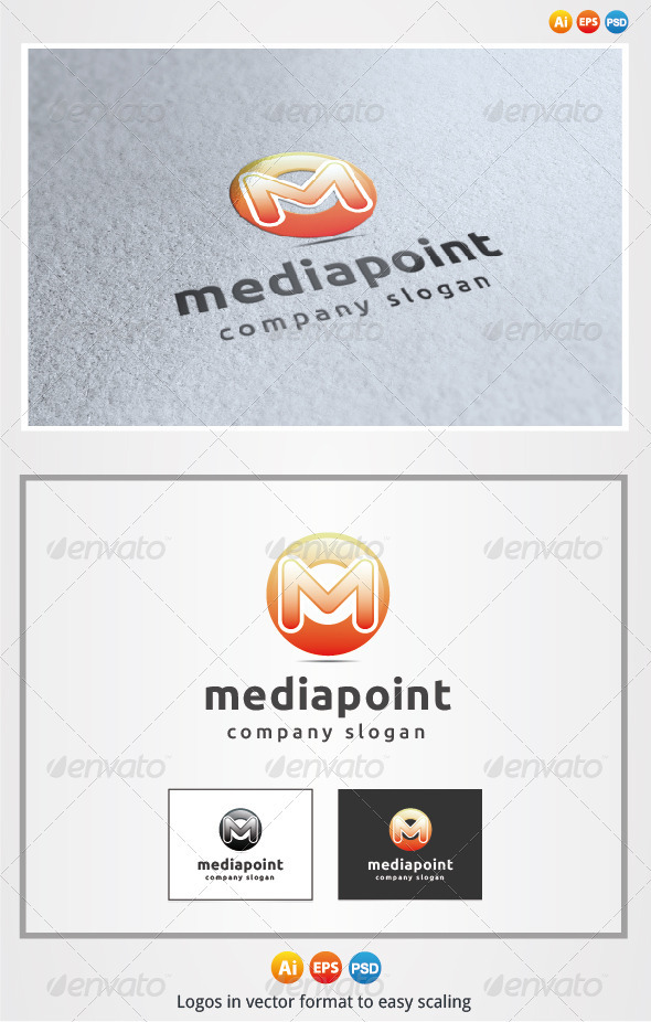 Media Point - Letters Logo Templates