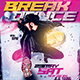 Breakdance Competition Flyer