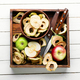 Apple chips with fresh apples - PhotoDune Item for Sale