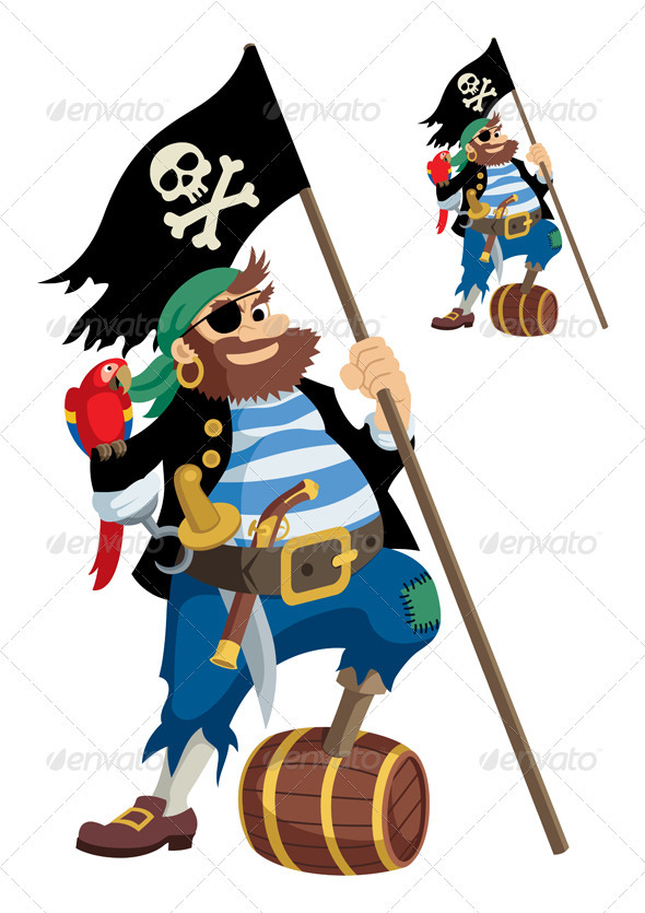 Pirate - People Characters