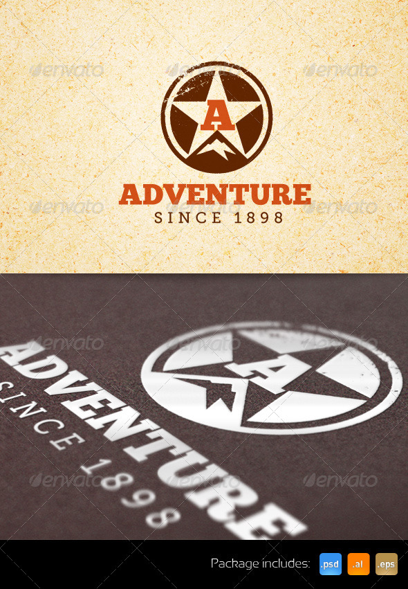 Adventure Sports Creative Logo Template - Nature Logo Templates