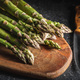 Fresh raw uncooked green asparagus. - PhotoDune Item for Sale