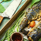 Baked mackerel with herbs - PhotoDune Item for Sale