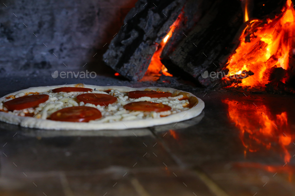 Baked for Pizza - Stock Photo - Images