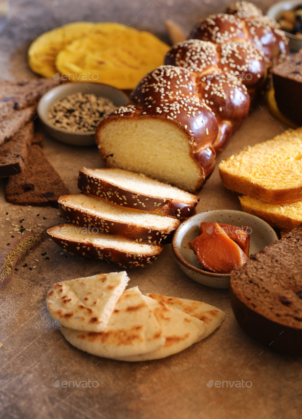 Bread Assortment - Stock Photo - Images