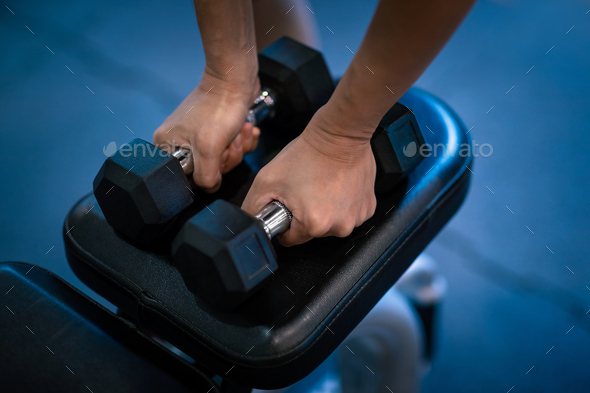 Workout in the Gym - Stock Photo - Images