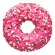 Fresh pink strawberry doughnut - PhotoDune Item for Sale