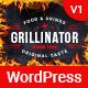 Grillinator - Food Restaurant Cafe Grill & Bistro WordPress Theme