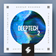 Deep Tech vol.2 – Music Album Cover Artwork Template
