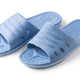 Blue Rubber Slippers on a white background - PhotoDune Item for Sale
