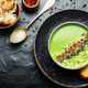 Cream soup with broccoli and mushrooms - PhotoDune Item for Sale