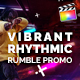 Vibrant Rhythmic Rumble Promo | For Final Cut & Apple Motion - VideoHive Item for Sale