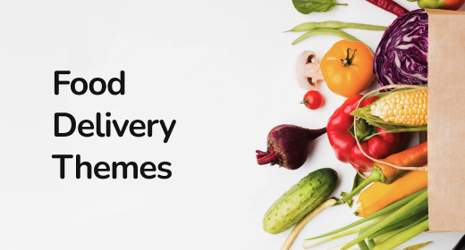 Food Delivery Themes by Zemez