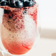 Healthy chia pudding in a glass with fresh blueberries - PhotoDune Item for Sale
