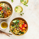 Quinoa, chickpeas and vegetables bowls - PhotoDune Item for Sale