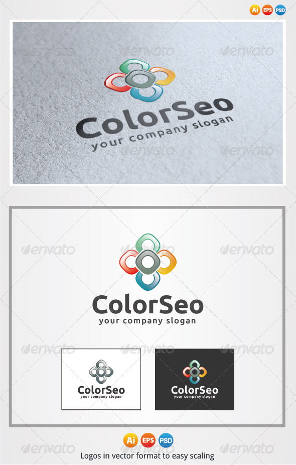 Color Seo Logo - Symbols Logo Templates
