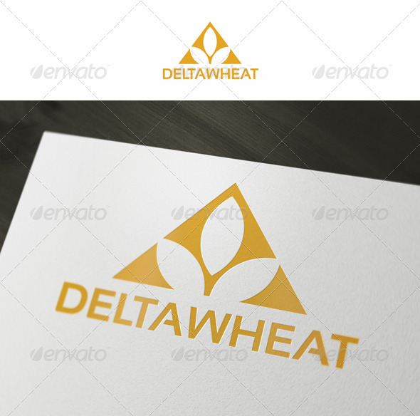 Delta Wheat - Symbols Logo Templates