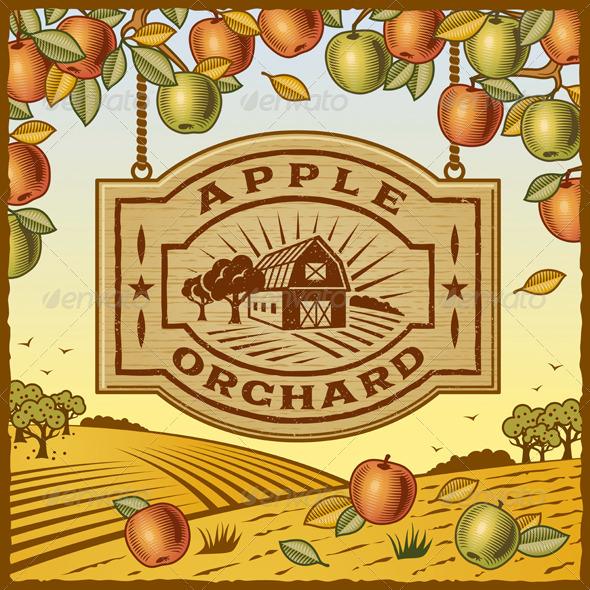 Apple Orchard - Decorative Symbols Decorative