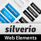 Silverio Web Elements - GraphicRiver Item for Sale