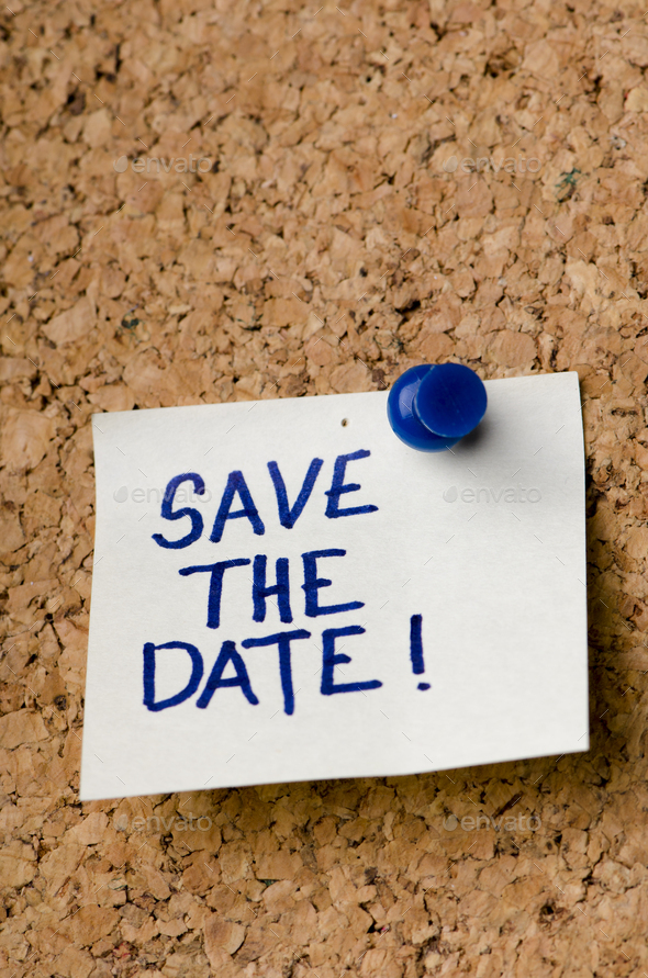 Save the date - Stock Photo - Images
