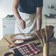 Man baking dough - PhotoDune Item for Sale