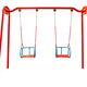 Child's swing isolated on a white background - PhotoDune Item for Sale