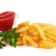 French fries isolated on a white background - PhotoDune Item for Sale