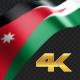 Long Flag Jordan - VideoHive Item for Sale
