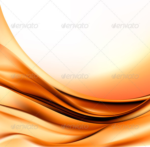 Elegant gold abstract background  Vector illustrat - Backgrounds Decorative