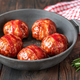 Bacon wrapped meatballs - PhotoDune Item for Sale