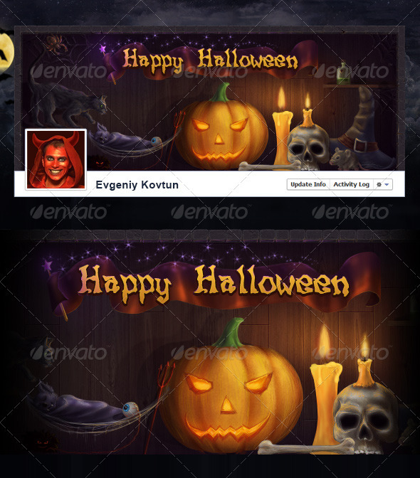 Halloween Facebook Timeline Cover - Facebook Timeline Covers Social Media