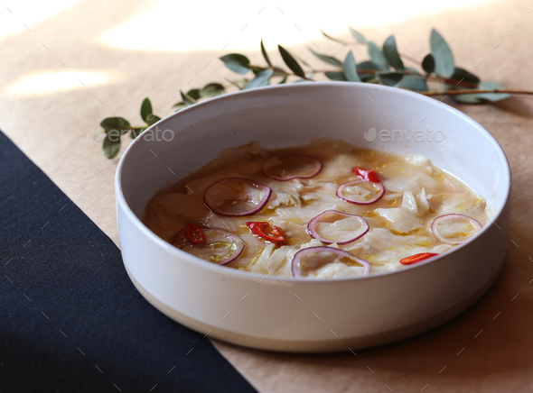 White Fish Ceviche - Stock Photo - Images