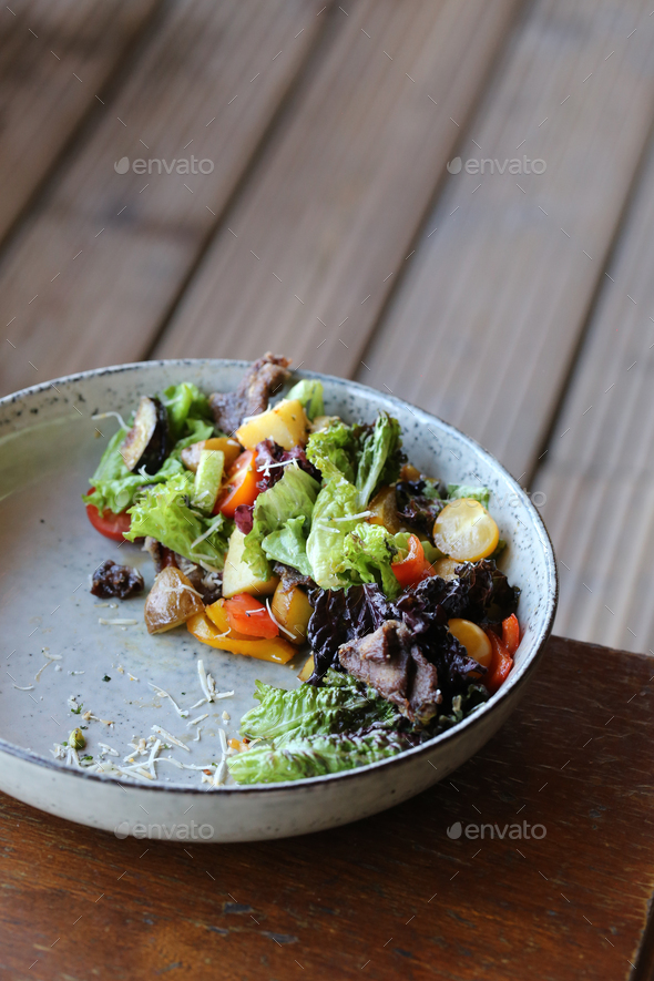 Salad with Vegetables - Stock Photo - Images