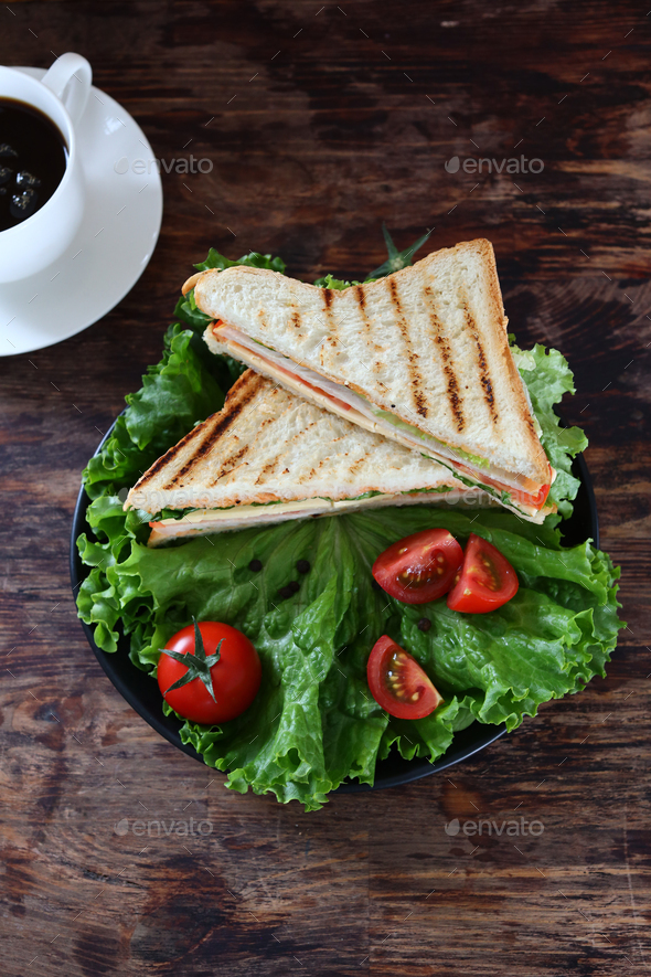 Food Sandwich - Stock Photo - Images