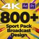 Sport Pack - Broadcast Design MOGRT - VideoHive Item for Sale