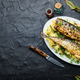 Baked mackerel with potatoes - PhotoDune Item for Sale